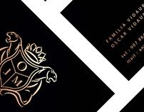Familia Vidaurre - Redesign Logo