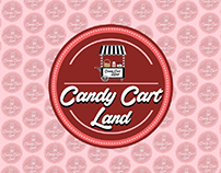 Candy Cart Land - Identity Design