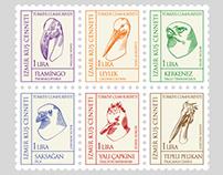İzmir Bird Paradise Commemorative Stamps