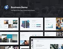 Event & Report Presentation Series 02. Business.