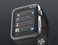 What's App Concept on AppleWatch