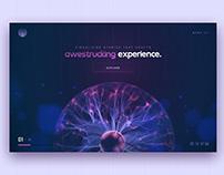 Awestruck Concept | UI / UX Landing Page