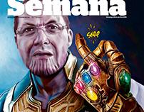 Portadas de Semana, suplemento de diario El Tiempo