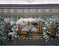 Handmade paper secret garden for Jo Malone London