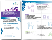 Study Aftercare Guidelines Brochure for Rebiotix