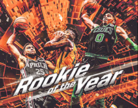 NBA Art | Rookie Of The Year
