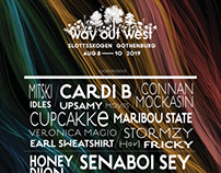 Way out west . poster