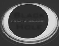 """Interactive Installation """"darkhole"""""""