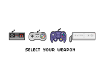 Select your weapon