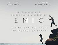 EMIC Interstellar Time Capsule Film Finalist