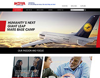Meiya website design