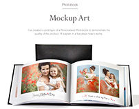 Mockup Art Personalised Photo Product