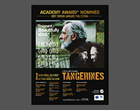"Posters for feature film ""Tangerines"". Allfilm 2013"