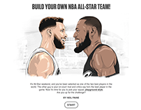 ESPN: BUILD YOUR OWN NBA ALL-STAR TEAM!