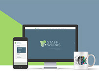 Staff Works - Web Design & Development