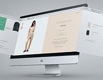 Website development for the brand of women's clothing