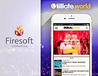 Tilllate.World | Web App + Web site