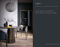 Lagom. A study in composition, light and shadow.