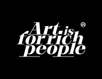 Art is for Rich People