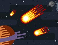 Cosmic bullets
