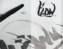 Flow // brush pen packaging