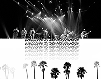 Booklet Design (Merchandise) - Moonshine Jungle Tour