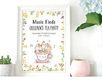 Music Finds Children's Tea Party 2016