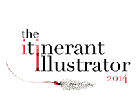 The Itinerant Illustrator Conference 2014 | Logo Design