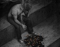 Anti-smoking art