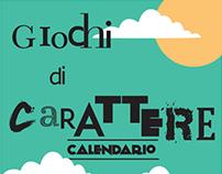 Giochi di Carattere // Calendar 2015