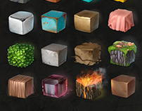 Texture'materials