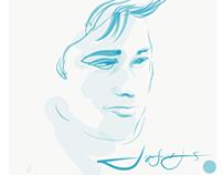 Portraits drawn on iPad with Adobe Draw