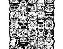 Caras Wallpaper / Faces Wallpaper