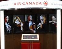 TRAVEL THROUGH MUSIC - AIR CANADA