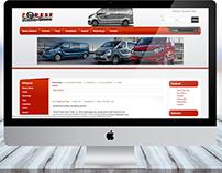 Projekt serwisu dla firmy Forest Auto Trans