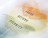 Pause Before Eternity Book Design