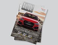 Editorial Design: AutOh! Magazine Roars Back!