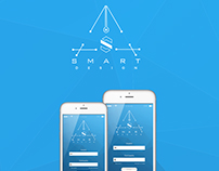 Mobile APP UI/UX Design, para web Portafolio.