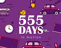 555 Days in Motion
