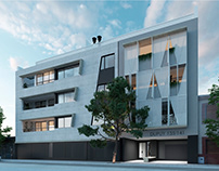 Dupuy 135 / 3D Visuals for residential project