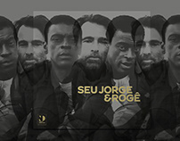 Seu Jorge & Rogê (Record Cover, Tour Graphics)