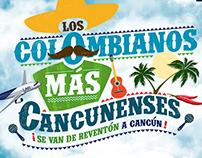 LAN - Los Colombianos más Cancunenses