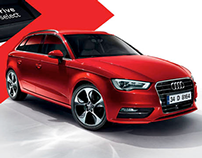"Audi A3 Sportback: ""Harder, better, faster, stronger''"