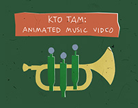 Kto Tam: animated music video