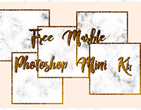 FREE MARBLE PHOTOSHOP MINI KIT