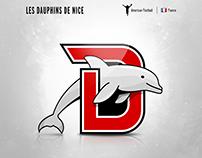 Les Dauphins De Nice | logo redesign