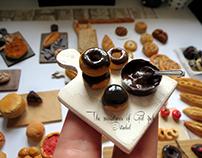 Miniature Chocolat Donuts By Gül ipek .istanbul