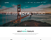 Royal - Responsive One Page Parallax Template
