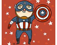 Captain America from Avengers