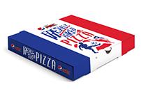 Pepsi Max French Pizza Box/ Football Season